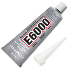 E6000 Clear Adhesive Glue 1oz with Glue Tip