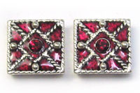 Sliders Epoxy with Swarovski Ruby