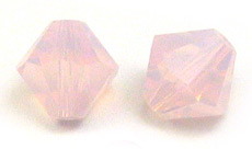 Swarovski 5301 Bicone Rose Water Opal 8mm 288pcs