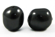 Swarovski Baroque Pearl 5840 8mm Black Beads