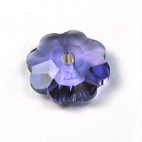 Swarovski Flower Spacer 3700 6mm Tanzanite
