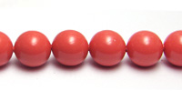 Swarovski Pearl 5810 6mm Coral Beads