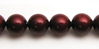 Swarovski Pearls 5810 8mm Bordeaux