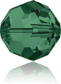 Swarovski Round 5000 6mm Emerald