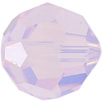 Swarovski Round 5000 6mm Rose Water Opal