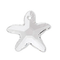 Swarovski Starfish 6721 16mm Crystal Pendants