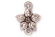 TierraCast Antique Silver Star Jasmine Link