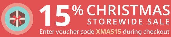 Christmas Sale 15%